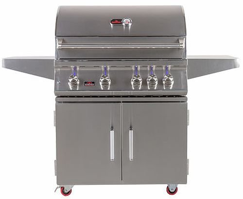 Cheap Bonfire 4 Double Door Freestanding Grill