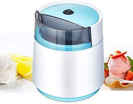 Icecream Makers Machine for Home DIY,Blue Ice Cream Maker with Built in Freezer 500ML Automatic Ice Cream Machine