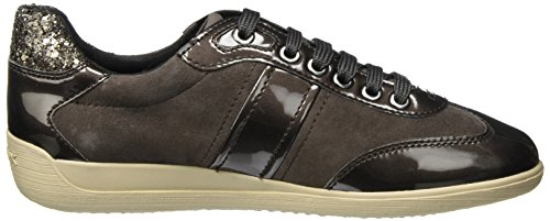 Sneakers A Geox Basses Femme Gris Myria wFx14q0
