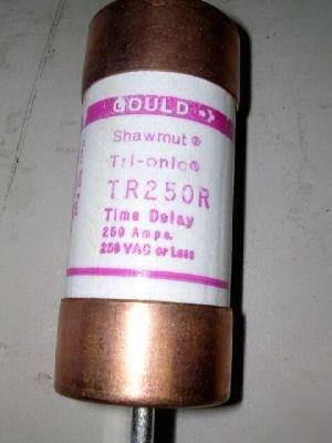 1- SHAWMUT TR250-R Tri-Onic Time-Delay RK5 Fuse, TR-250R 250A (Fuse Tri Onic)