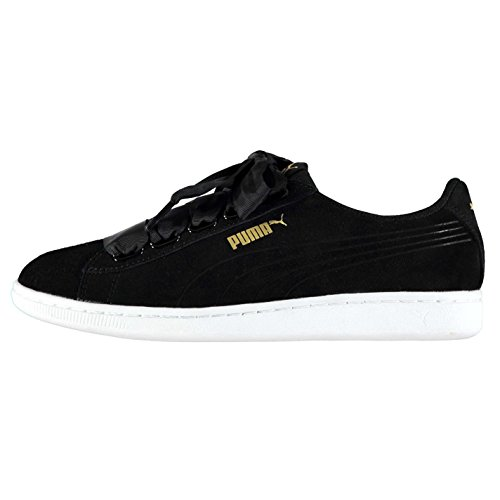 Puma Baskets Officiel Baskets Chaussures BLK femme pour ruban Vikky Sports F5nwqHx47R