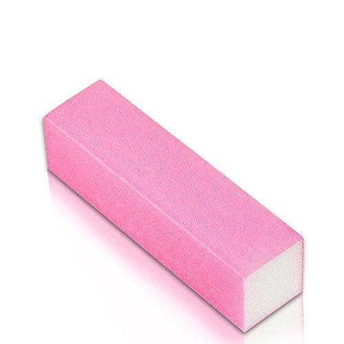 NeoNail Pink Polish Block Nail Buffer White Gradation 240