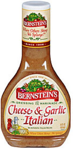 Bernstein's Cheese and Garlic Italian Dressing, 14-Ounce (Pack of 3) (Best Restaurant Salad Recipes)