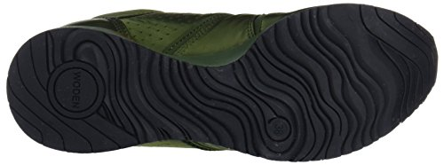 Verde Mujer Pine Zapatillas NS G Woden para Tree Gro Satin qPYqFxX