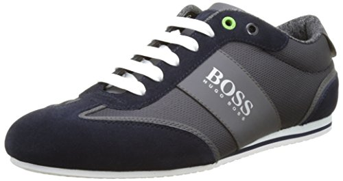 Hugo Boss Trainers - Mens 431 Lighter Trainer In Dark - Uk Boss Hugo In