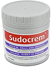 Sudocrem - Diaper Rash Cream for Baby, Soothes, Heals, and Protects, Relief and Treatment of Diaper Rash, Zinc Oxide Cream - 125g