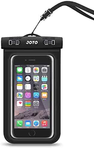 Universal Waterproof Case, JOTO CellPhone Dry Bag Phone Pouch for iPhone 8/7/7 Plus/6S/6/6S Plus/SE/5S, Samsung Galaxy S8/S8 Plus/Note 8 6 5 4, Google Pixel 2 HTC LG Sony MOTO up to 6.0