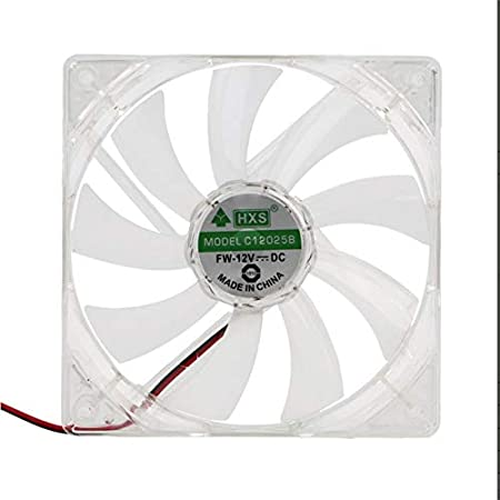 Ordenador PC Ventilador Quad 4 LED Light 120mm PC Caja de la computadora Ventilador de refrigeración Mod Quiet Molex Connector Easy Installed Fan 12V