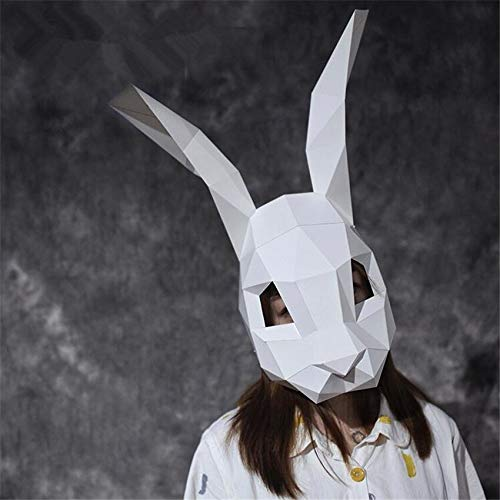 Egyptian Wallpaper - Creative Handwork Pink Rabbit Paper Matrix Cosplay 3d Diy Mask Fancy Ball Party Man Women Children - Costume Boys Accessories Boys Costume Accessories Bunny Mask Wooden Jap]()