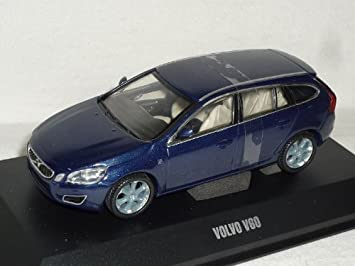 Motorart Volvo V60 V 60 Ab 2010 Kombi Ocean Race Blau 1 43 Modellauto Modell Auto Spielzeug