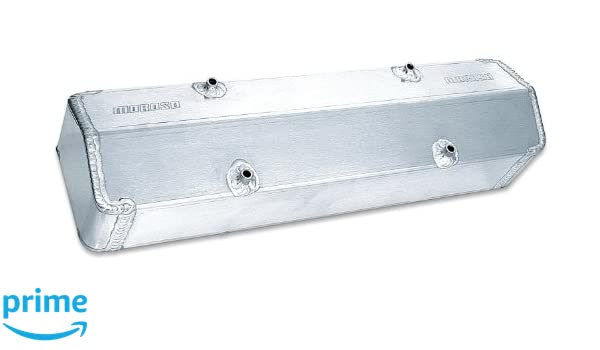Moroso 68374 Aluminum Valve Covers Set of 2