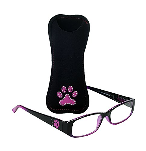 SAV Dog Bone Readers Rhinestones, +2.75, Pink