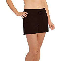Catalina Women's Swim Cover-up Board Short (Small, Black)