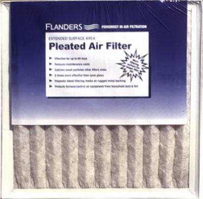 2. 20x30x1, Flanders Air Filter, MERV 6 (Pack of 12)