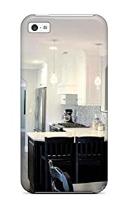 Cute High Quality Iphone 5c Transitional Kitchen With Black And White Color Palette Case