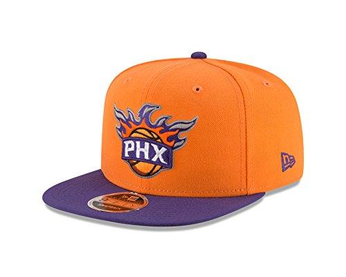 New Era NBA Phoenix Suns Men's 9Fifty Original Fit 2Tone Snapback Cap, One Size, Gold