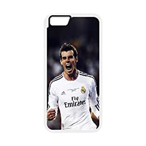 iPhone 6 4.7 Inch Cell Phone Case White Real Bale Sports Face SP4123048