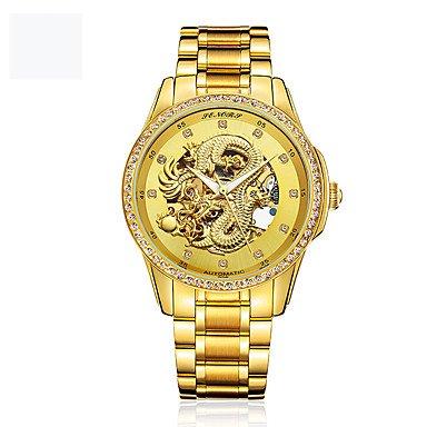Reloj hombre de Moda Japonés Resistente al Agua Oro 24Khttps://amzn.to/30SF5n0