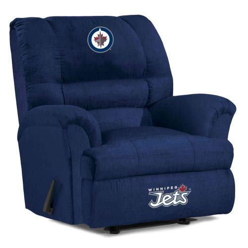 Winnipeg Jets Recliner Jets Leather Recliner Jets Easy Chair