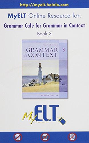 GRAMMAR IN CONTEXT,BOOK 3-GRAM