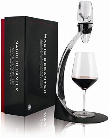 efly Aireador de vino Decantador – Mejor para decantador de vino tinto – hace un gran regalo para ella y él amantes del vino: Amazon.es: Hogar