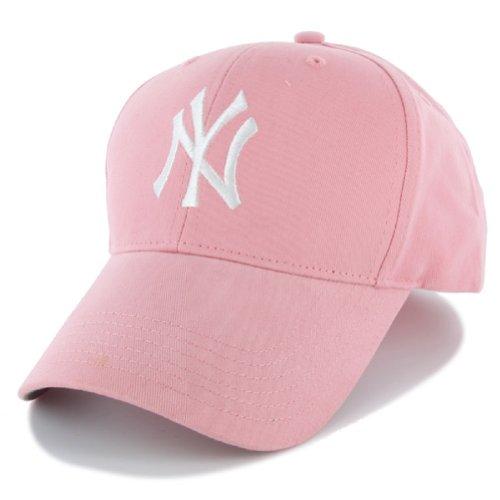New York Yankees Girls Pink Adjustable Hat Size 4/7