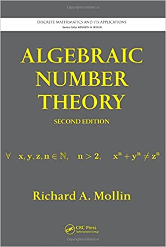 Algebraic number theory second edition discrete mathematics and algebraic number theory second edition discrete mathematics and its applications richard a mollin 9781439845981 amazon books fandeluxe Choice Image