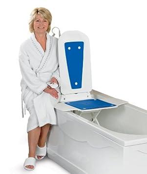 Bathlift Bathmaster Deltis Premium with Blue Covers UK: Amazon.co ...