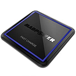 [NEW 2018 UPGRADED] Fast QI Wireless Charger – Best Fast Charging Pad 1.67A (NO AC ADAPTER INCLUDED) for iPhone 5/6/6s/7/8/X, Samsung Galaxy S5/S6/S7/S8/Edge/Note, LG, Moto