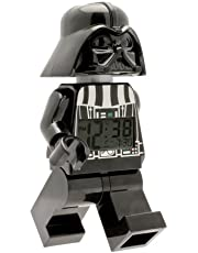 Save on Lego Star Wars 9002113 Darth Vader Kids Minifigure Light Up Alarm Clock, Black and more