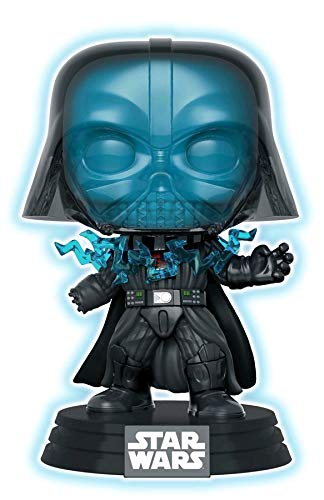 - Funko Pop! Star Wars: Return of The Jedi - Glow in The Dark Electrocuted Vader (Exclusive)