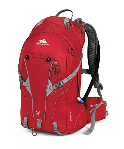 High Sierra Moray Hydration Pack, Charcoal/Kelly,...