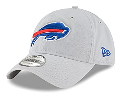 "Buffalo Bills New Era NFL 9Twenty ""Core Classic Twill"" Adjustable Gray Hat by New Era"
