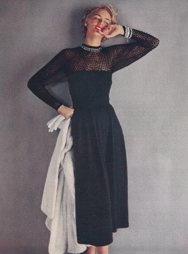 Amazon Vintage Knitting Pattern To Make 1940s Lace Evening