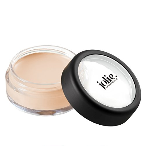 Jolie Total Coverage Conceal Under Eye & Facial Creme Concealer Pot (Light)