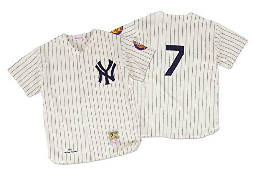 - New York Yankees Authentic 1952 Mickey Mantle Home Jersey By Mitchell & Ness Size 52