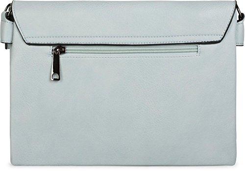 02012227 Donna Polso Da Cinturino Chiaro Tracolla Blu Stylebreaker argento Borsa Clutch Sera Borchie Con Colore qn4vSx