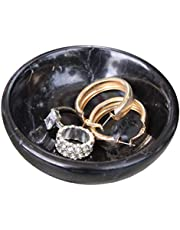 Real Marble Jewelry Dish - Ring Holder - Jewelry Organizer Tray - Decorative Key Bowl-Home Decor Wedding Gift- Ring Dish - Jewelry Tray -Vanity Tray - Decorative Tray - Marble Tray