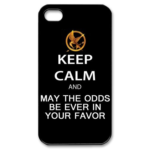 The Hunger Games Quote iPhone 4/4s Case Hard