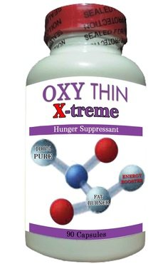 Xtreme Trim - Oxy Thin X-treme-APPETITE SUPPRESSANT,100% PURE,Energy Enhancers,100% Guaranteed!