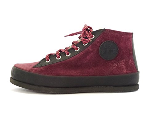 BOTTINES GALLUCCI 1549 VELOUR BORDO CHAUSSURES ITALIENNES FILLE