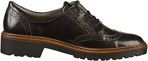 Material Cordones Antracita sintético Mujer Zapatos con by Portland Jenny Ara de 0qXggFS