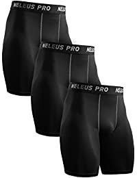 Men's Performance Compression Shorts 3 Pack