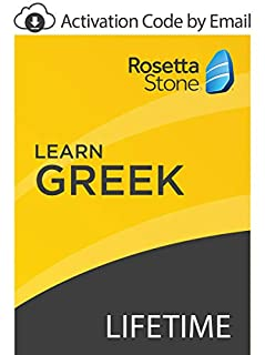 Rosetta Stone: Learn Greek with Lifetime Access on iOS, Android, PC, and Mac [Activation Code by Email] (B07GK1FK9R) | Amazon price tracker / tracking, Amazon price history charts, Amazon price watches, Amazon price drop alerts