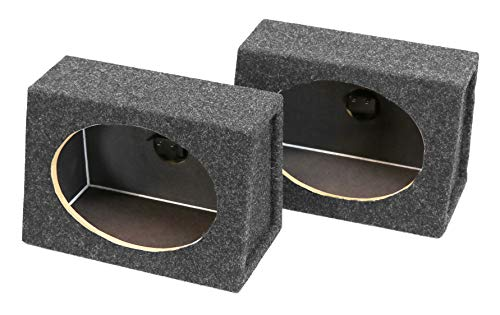 Atrend 6X9PR B Box Series 6 x 9 Inches Pair Speaker Box with Speaker Terminal (The Best Speaker Box)