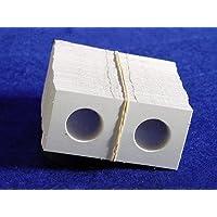 100 1.5x1.5 Cartón Monederos NICKELS