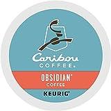 Caribou Obsidian Coffee Keurig K-Cups, 72 Count
