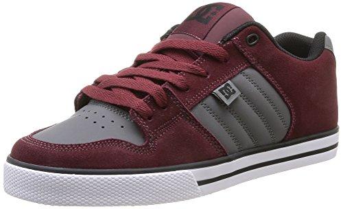 DC Shoes Men's Course Low-Top Burgundy nstsULG