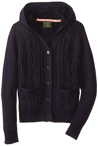 Eddie Bauer Girls' Sweater (More Styles Available), Warm Navy, 4 by Eddie Bauer