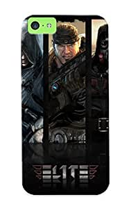 Flexible Tpu Back Case Cover For iphone 5c iphone 5c - Fighter Jet